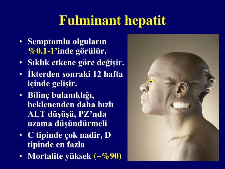 Fulminant hepatit