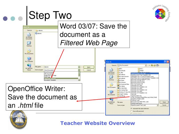 Word 03/07: Save the document as a
