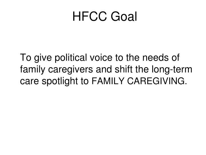 HFCC Goal