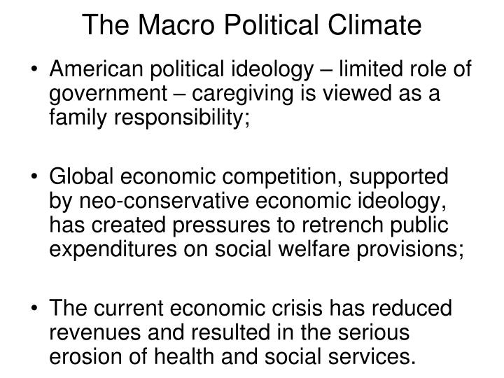The Macro Political Climate