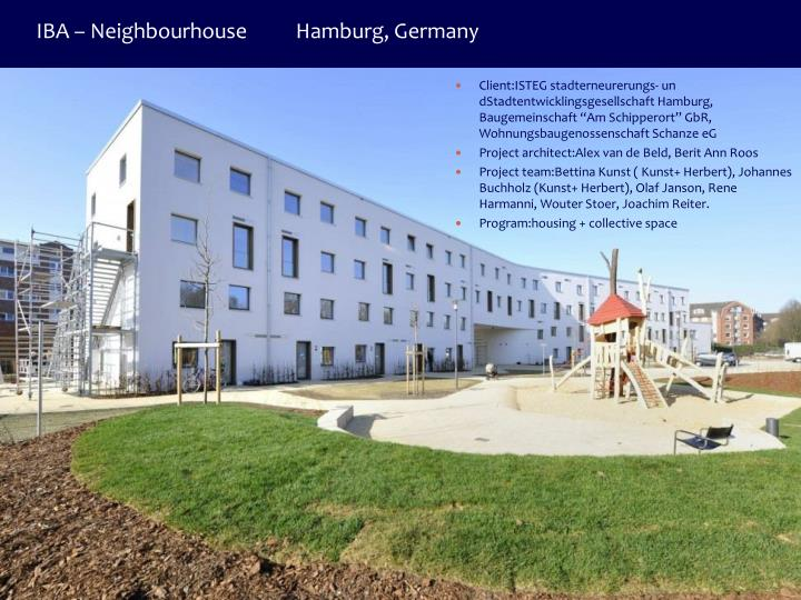 IBA – Neighbourhouse          Hamburg, Germany