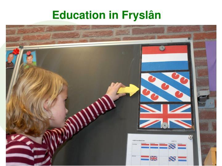 Education in Fryslân