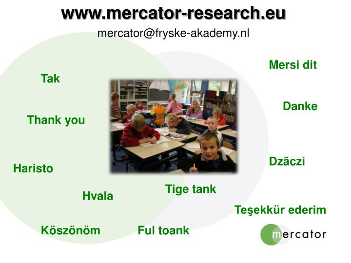 www.mercator-research.eu