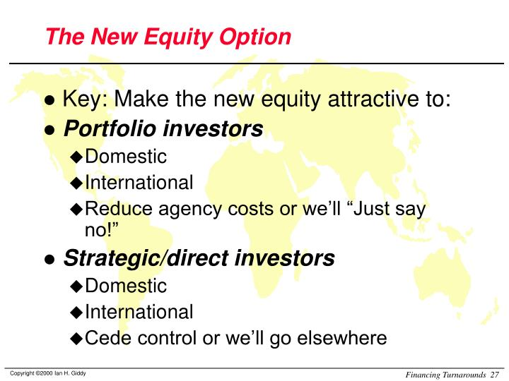 The New Equity Option
