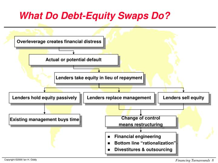 What Do Debt-Equity Swaps Do?