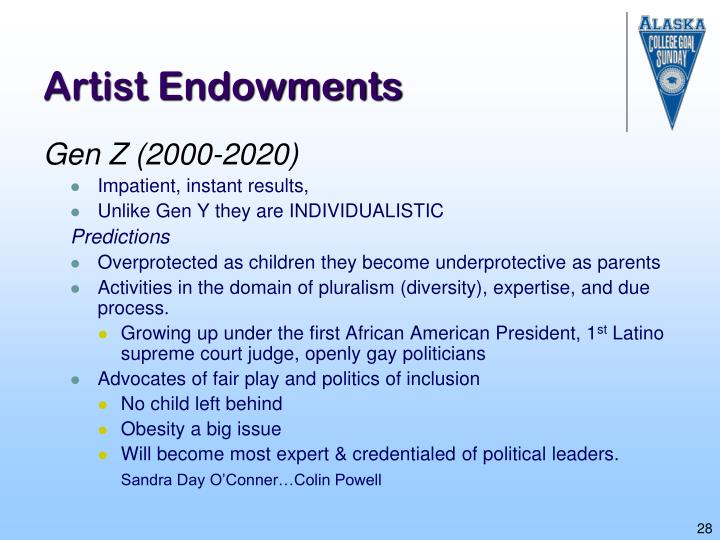 Artist Endowments
