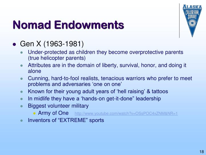 Nomad Endowments