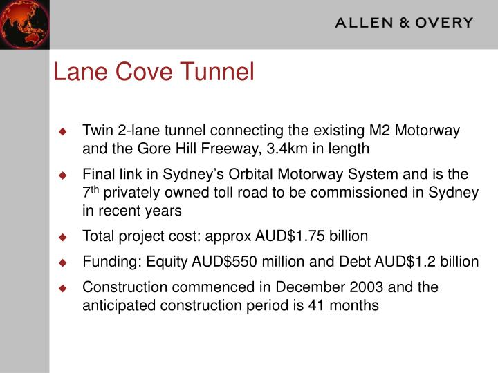 Lane Cove Tunnel