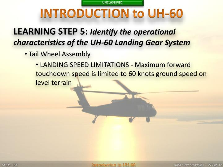 INTRODUCTION to UH-60