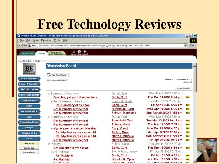 Free Technology Reviews