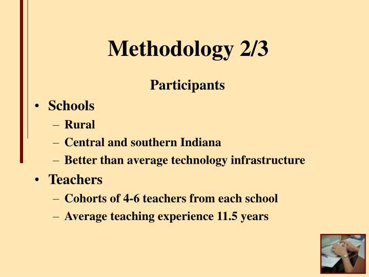 Methodology 2/3