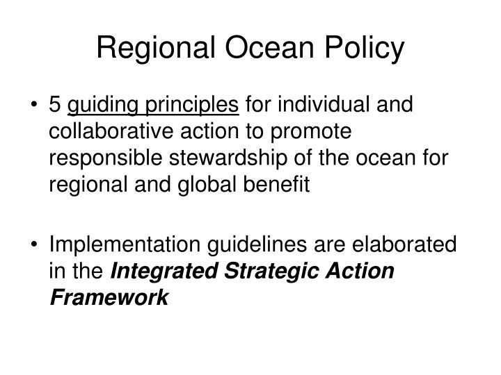 Regional Ocean Policy