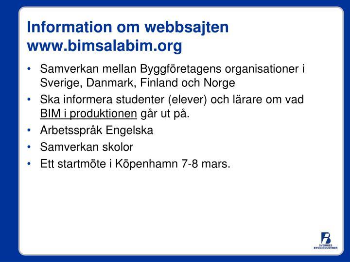 Samverkan mellan Byggföretagens organisationer i Sverige, Danmark, Finland och Norge