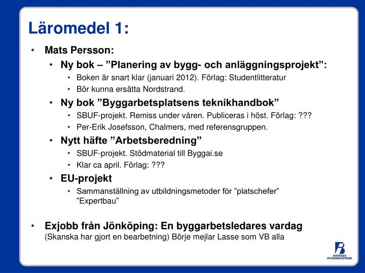 Mats Persson: