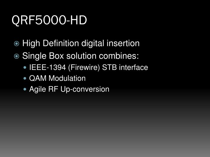 QRF5000-HD
