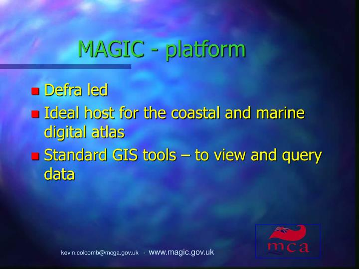 MAGIC - platform