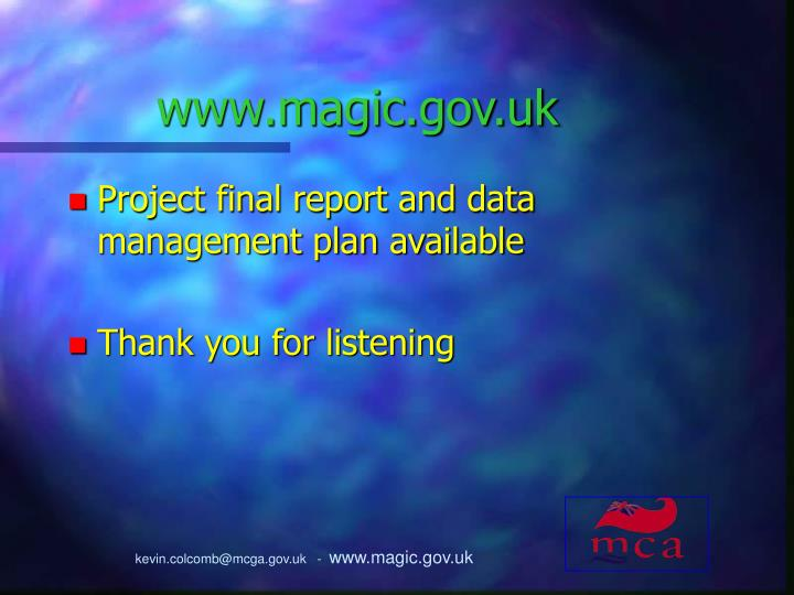 www.magic.gov.uk