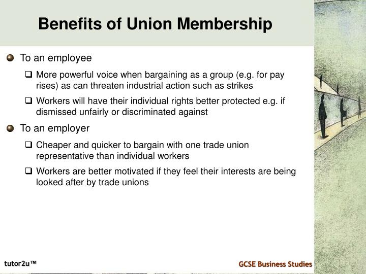 Benefits of Union Membership