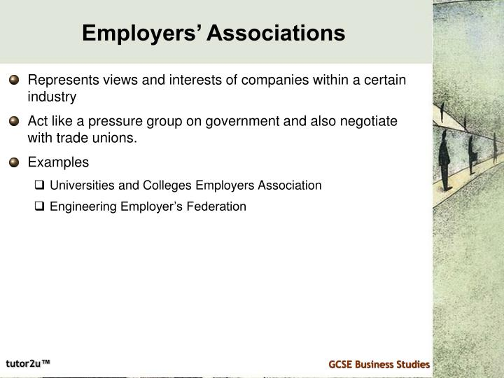 Employers' Associations