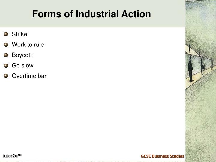 Forms of Industrial Action
