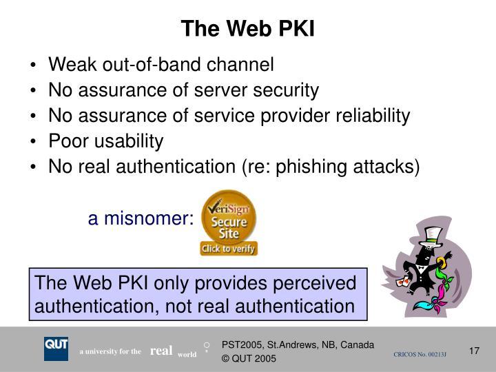 The Web PKI