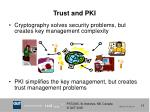 trust and pki