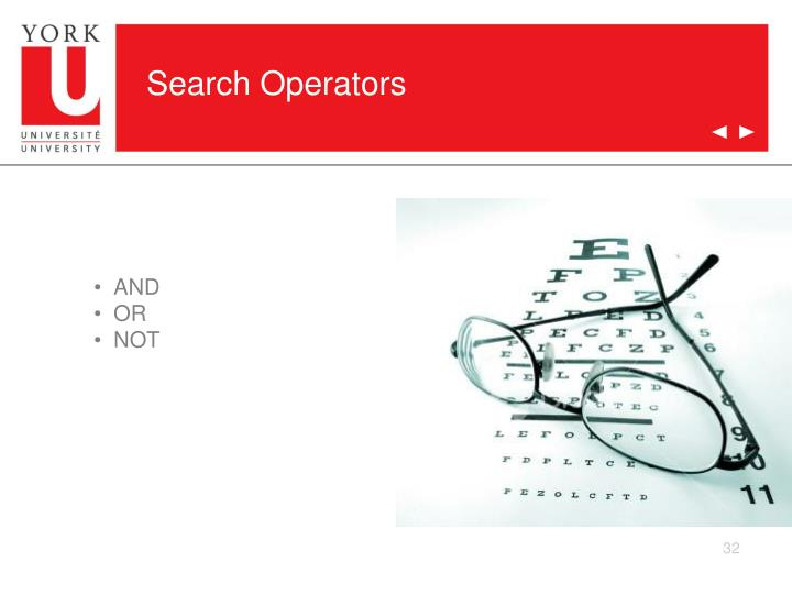 Search Operators