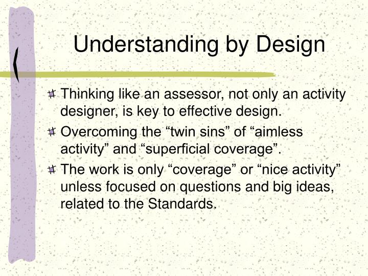 Understanding by design2