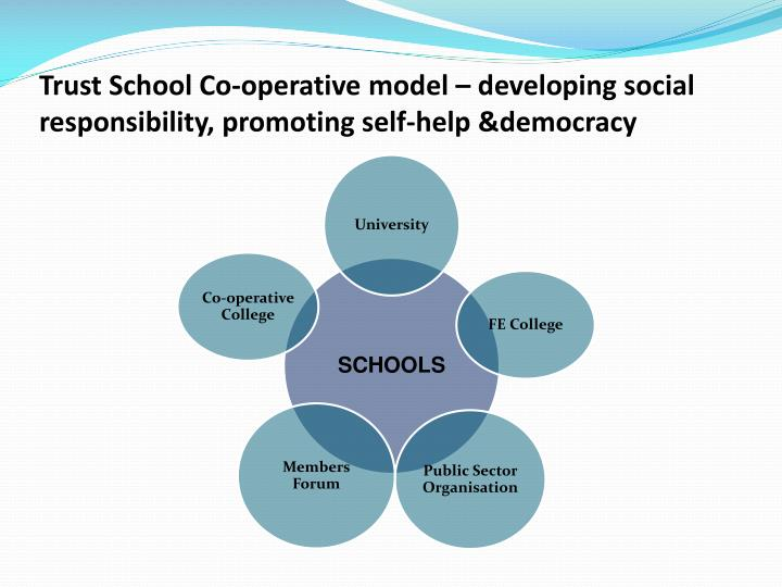 Trust School Co-operative model