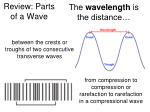 review parts of a wave