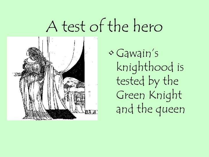 A test of the hero