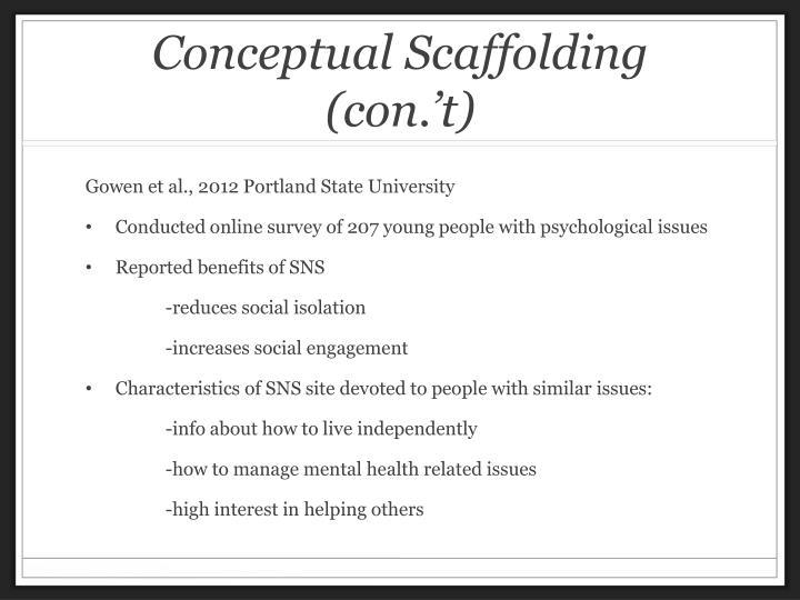 Conceptual Scaffolding (
