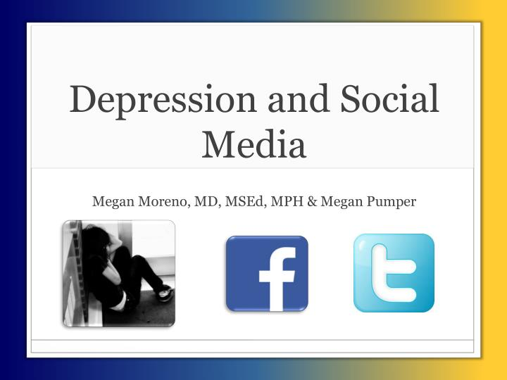 Depression and Social Media