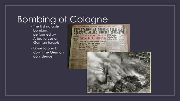 Bombing of Cologne