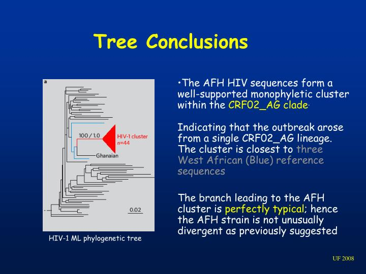 Tree Conclusions