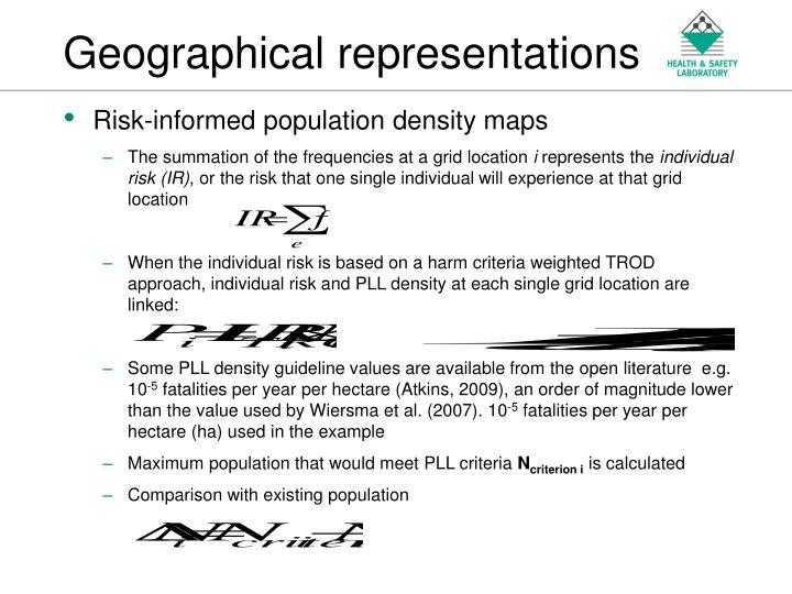 Geographical representations