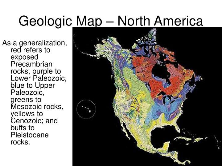 Geologic Map – North America