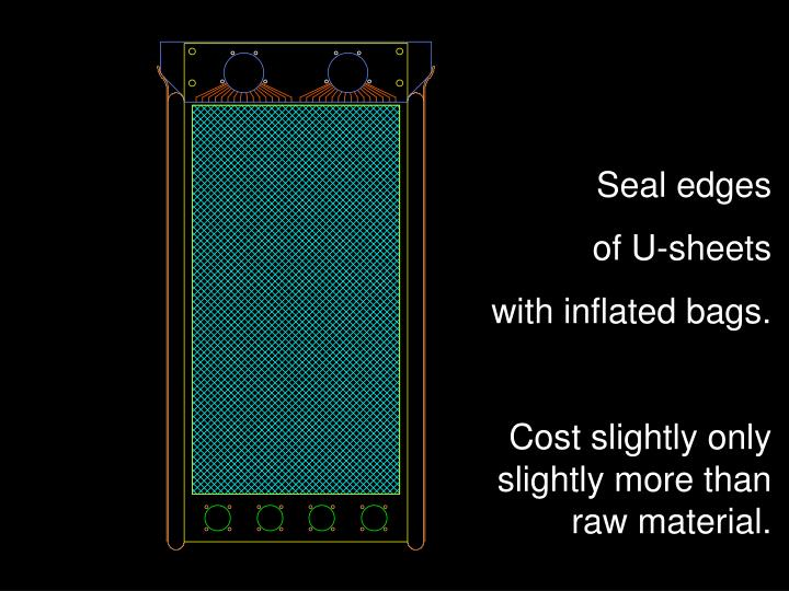 Seal edges