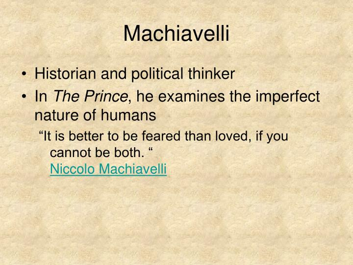 the importance of portraying virtues as discussed in the prince by niccolo machiavelli It was at the oricellari gardens that machiavelli discussed the drafts of his second most important book expanding his power is the prince's goal, his virtue.