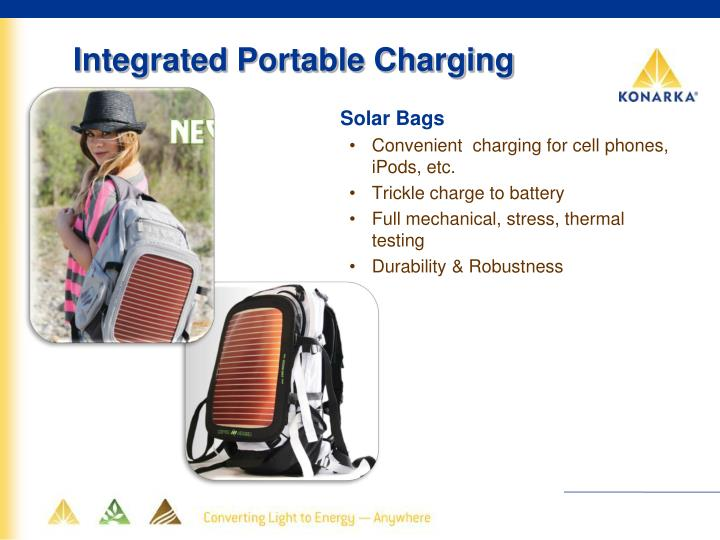 Integrated Portable Charging