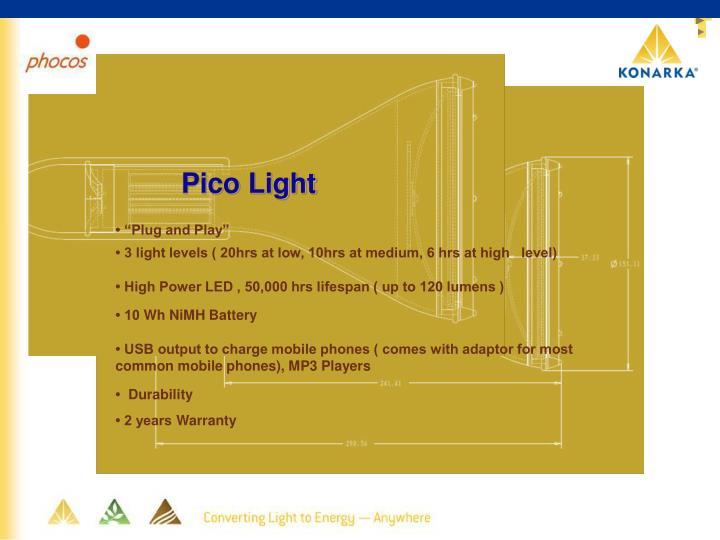 Pico Light