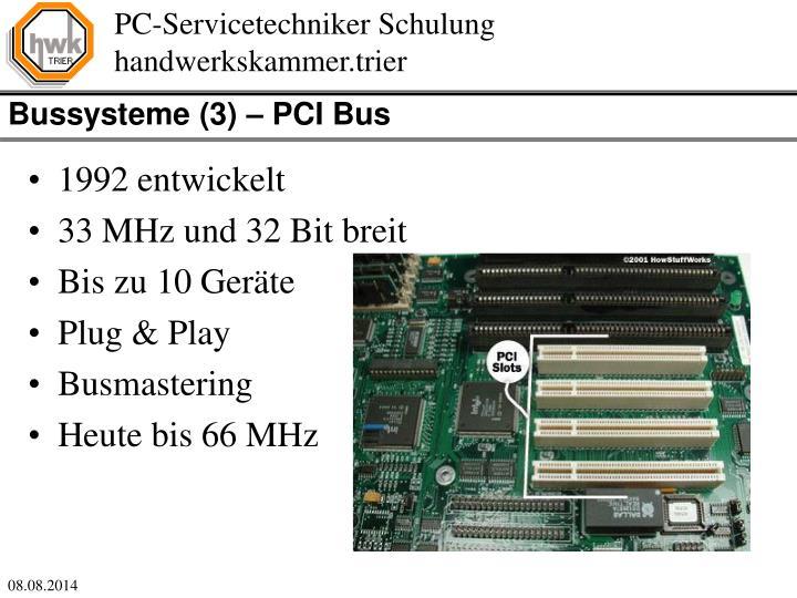 Bussysteme (3) – PCI Bus