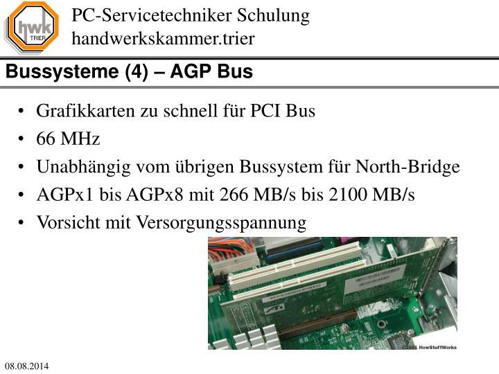 Bussysteme (4) – AGP Bus