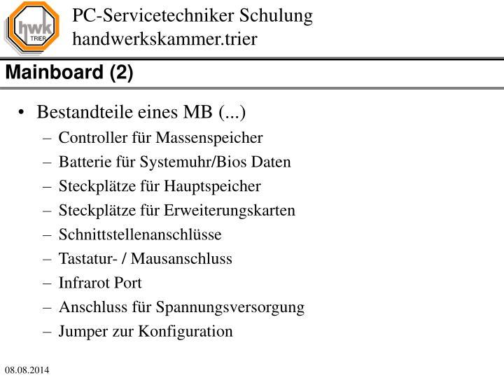 Mainboard (2)