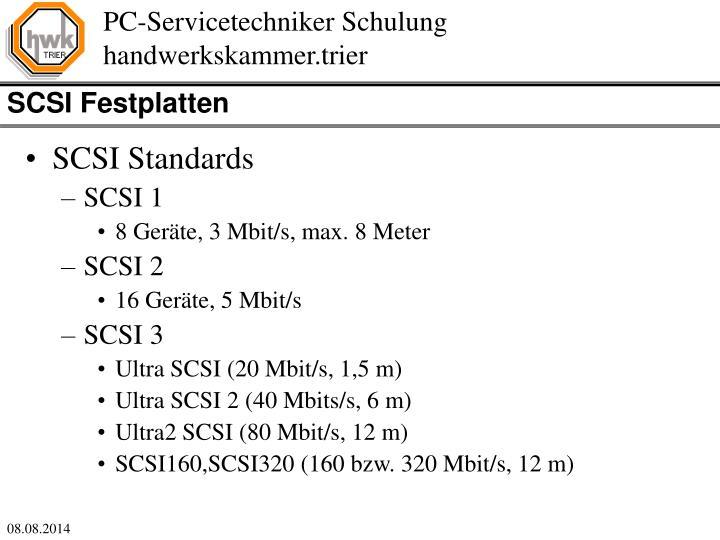 SCSI Festplatten