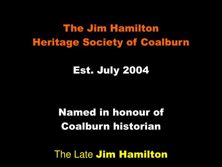 The Jim Hamilton