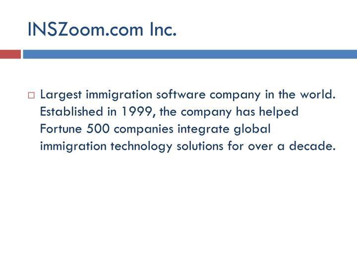 INSZoom.com Inc.