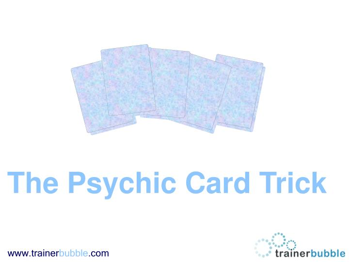The Psychic Card Trick