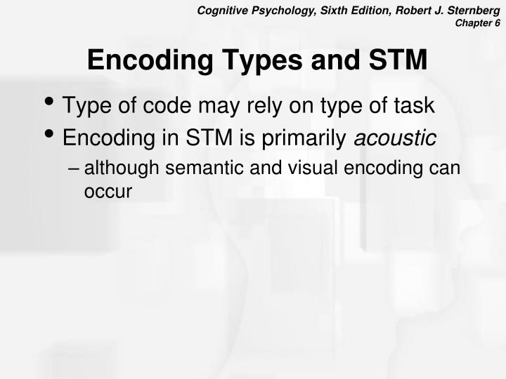 Encoding Types and STM