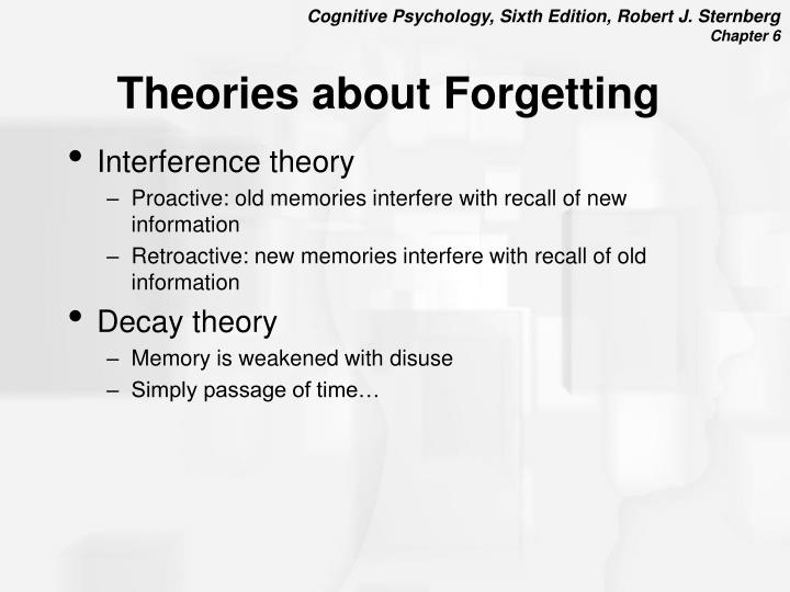 Theories about Forgetting